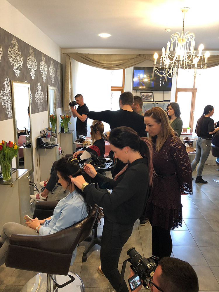 New tape (predlžovanie vlasov) - školenie, marec 2019